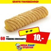 PUDDING CROISSANTS 60ST