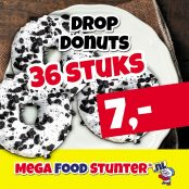 donut drop 36 wit