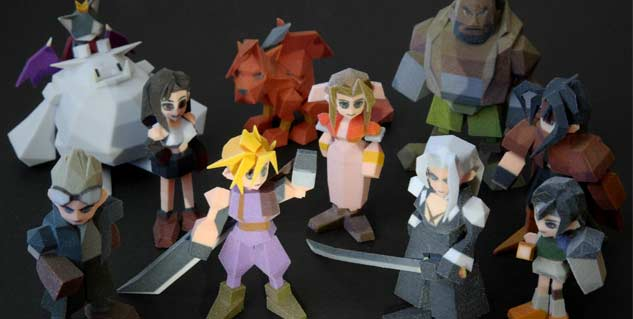 News These 3D Printed FFVII Characters Are Badass MegaGames