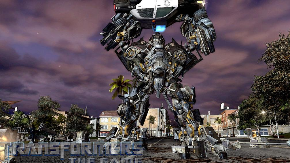 Transformers The Game Ironhide Vs Blackout Trailer