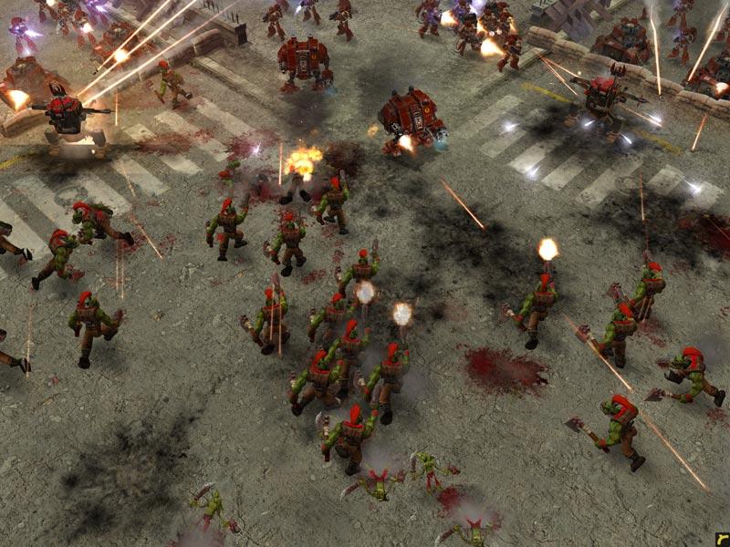 Demos PC Warhammer 40000 Dawn Of War Demo MegaGames