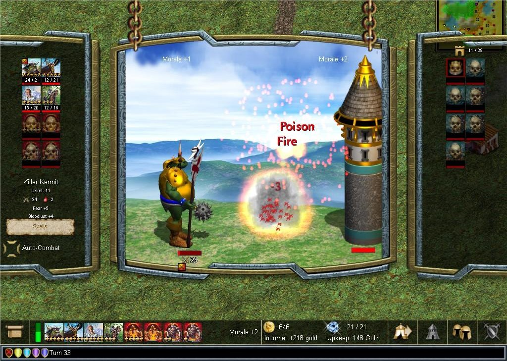 Demos PC Warlords IV Heroes Of Etheria Demo MegaGames