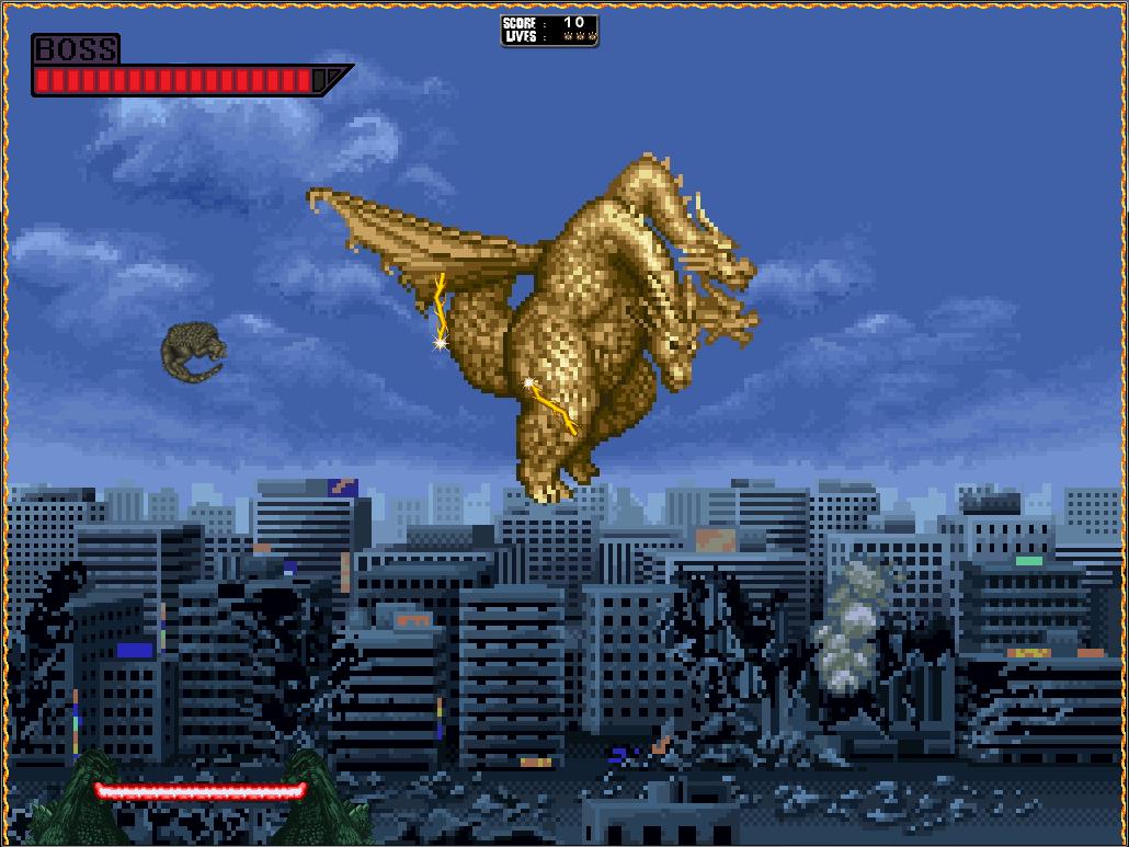 Freeware Freegame Super Godzilla Breakout Free Full