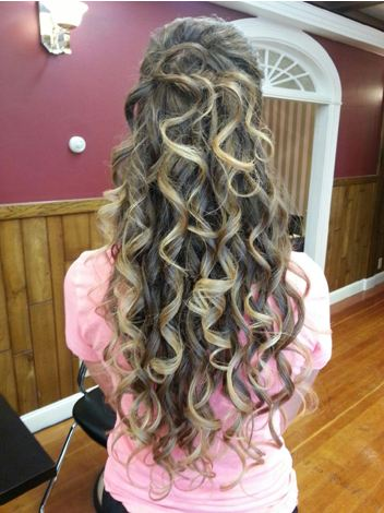 Extensions with Curls
