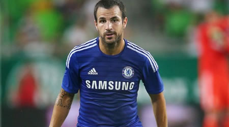 Fabregas finally confesses to throwing pizza at Sir Alex Ferguson