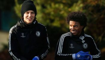 914ca7acca3 I don t let him go!  - David Luiz expecting Willian to stay at ...