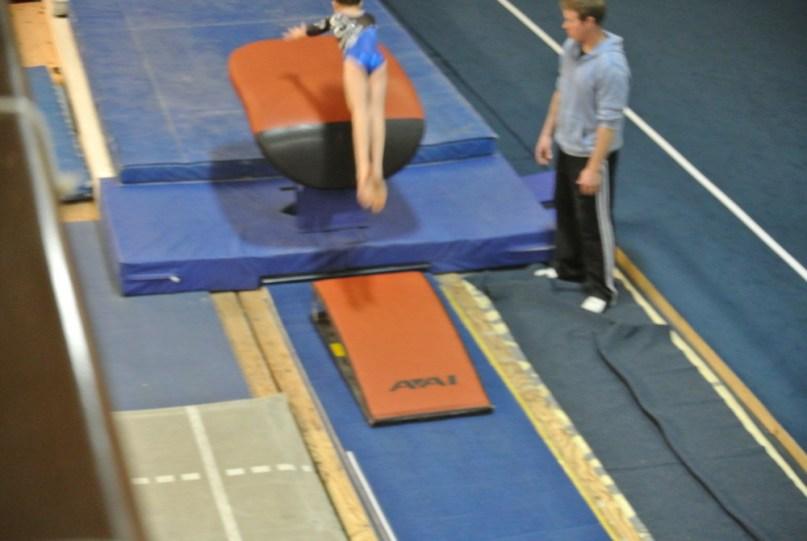 Judges' Cup 2011 Vault Approach - Level 5