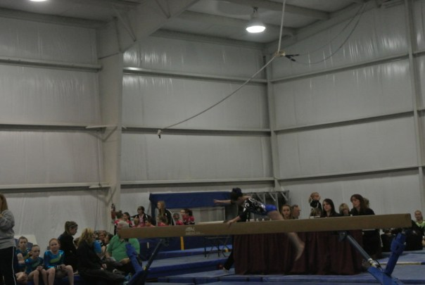 Ice Breaker Invitational 2012 Beam Dismount - Level 5