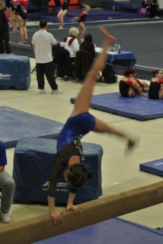 BSU Open 2012 Beam Cartwheel - Level 5