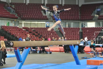 Queen of Hearts Invitational 2013 Beam Leap - Level 6