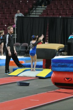 Queen of Hearts Invitational 2013 Vault Jump - Level 6