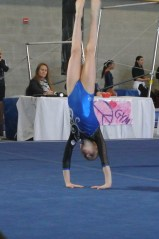 Vegas Cup 2013 Floor Back Roll to Handstand - Level 6