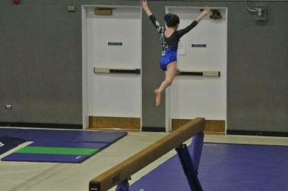 BSU Open 2013 Beam Split Jump - Level 6