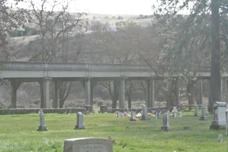 Cemetary in Spalding Park