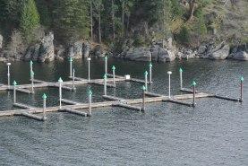 Empty Boat Dock on Saturday