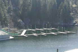 Empty Boat Dock on Sunday