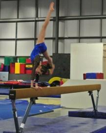 Judges' Cup 2013 Beam Cartwheel - Level 7