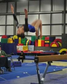 Judges' Cup 2013 Beam Back Tuck Dismount - Level 7