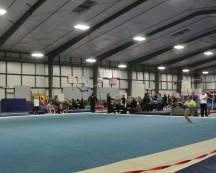 Judges' Cup 2013 Floor Back Pass Landing - Level 7