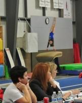 Judges' Cup 2013 Vault Handstand - Level 7