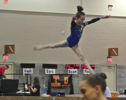 Classic Rock Invitational 2014 Beam Leap - Level 7