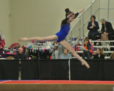 Queen of Hearts Invitational 2014 Beam Leap - Level 7