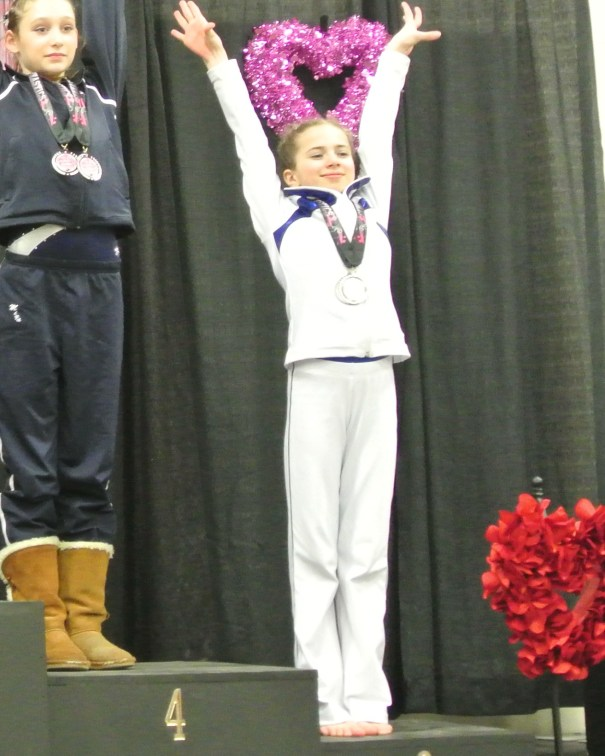 Queen of Hearts Invitational 2014 Floor Awards - Sixth - Level 7