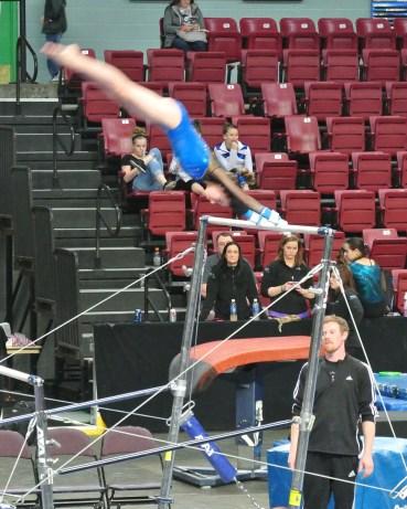 Idaho State Championships 2014 Bars Giant - Level 7