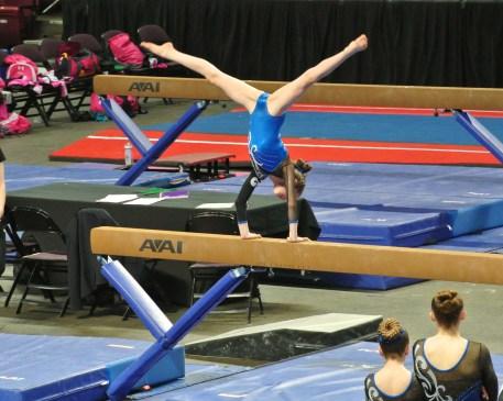 Idaho State Championships Beam Mount - Level 7