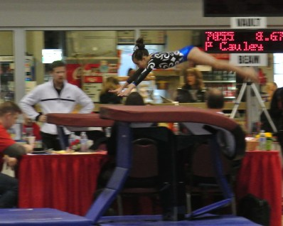 Rose City Challenge 2014 Vault Approach - Level 7