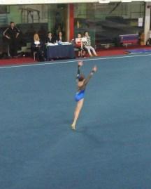 Judges' Cup 2014 Floor Tumbling Run - Level 7