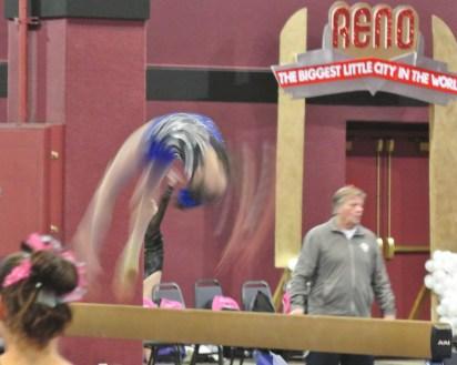 Flips Invitational 2015 Beam Back Handspring - Level 7