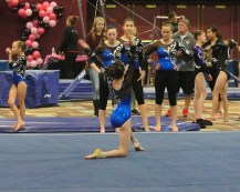 Flips Invitational 2015 Floor Opening Dance Move - Level 7
