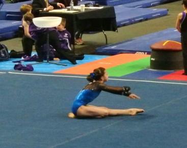 Gem State Invitational 2015 Floor Opening Dance Move - Level 7