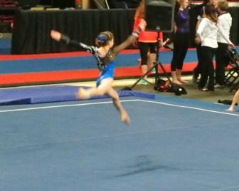 Gem State Invitational 2015 Floor Leap - Level 7