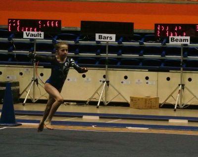 BSU Open 2015 Floor Tumbling Run - Level 7