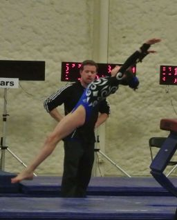 Queen of Hearts Invitational 2015 Vault Flight - Level 7