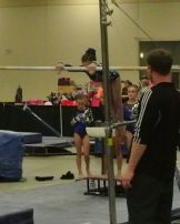 Queen of Hearts Invitational 2015 Bars Mount - Level 7