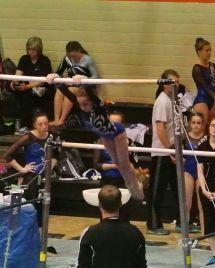 Idaho State Championships 2015 Bars Giant - Level 7
