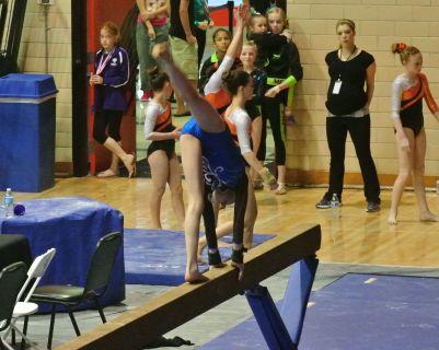 Idaho State Championships 2015 Beam Back Walkover - Level 7