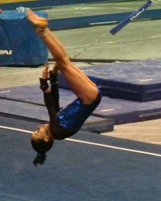 Idaho State Championships 2015 Floor Front Pike - Level 7