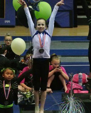 Idaho State Championships 2015 Bars Awards - Second - Level 7
