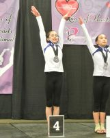 Queen of Hearts Invitational Beam Awards - Fourth - Level 8