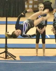 Rose City Challenge 2016 Floor One and a Half Twist - Level 8