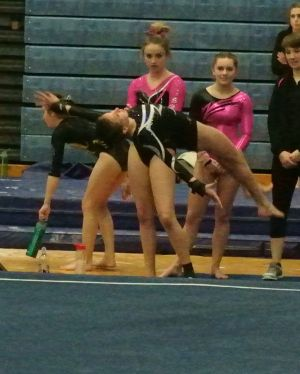 Idaho State Championships 2016 Floor One and a Half Twist - Level 8