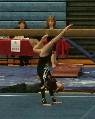 Idaho State Championships 2016 Floor Dance Move - Level 8