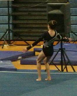 Idaho State Championships 2016 Floor Front Tuck - Level 8