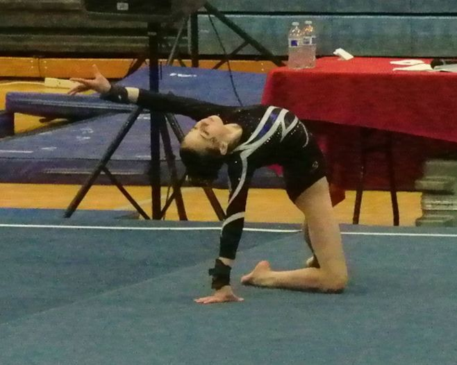 Idaho State Championships 2016 Floor Final Pose - Level 8