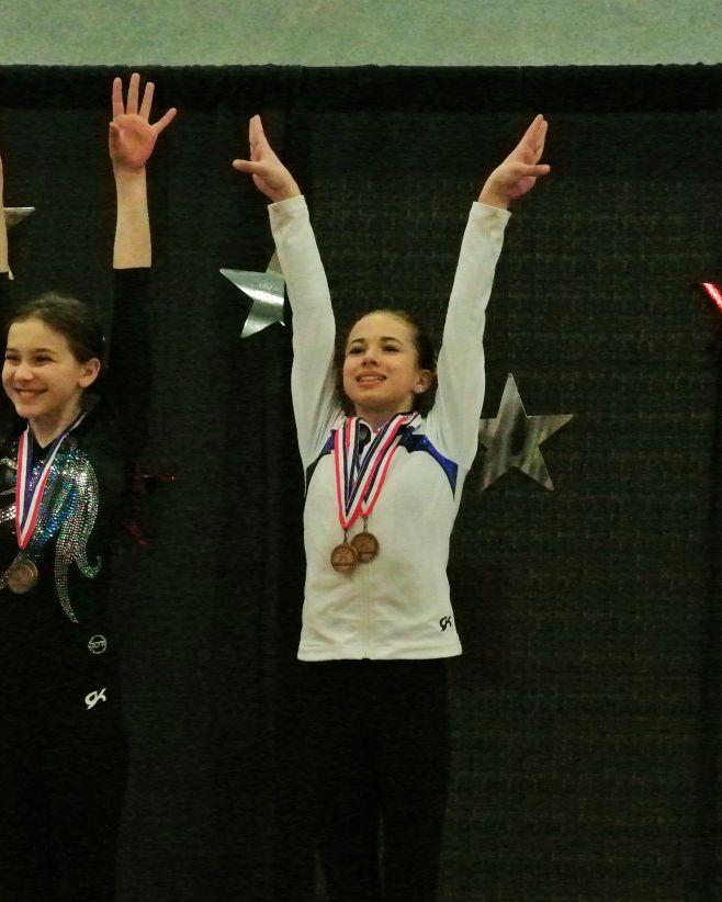 Idaho State Championships 2016 All-Around Awards - Ninth - Level 8