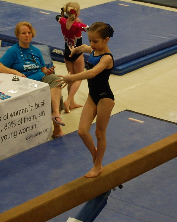 Idaho State Championships 2011 Beam Turn - Level 4